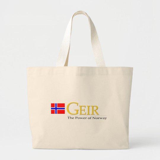 GeirPower Logo Tote Bags