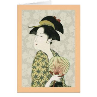 Geisha 1 card