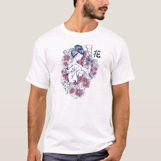 Geisha and Roses Tshirt