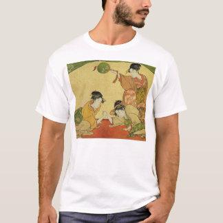 Geisha Arm Wrestling T-Shirt