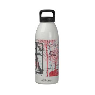 Geisha Art Reusable Water Bottles