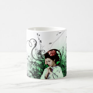 Geisha Basic White Mug