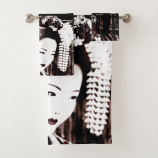 Geisha Bath Towel Set