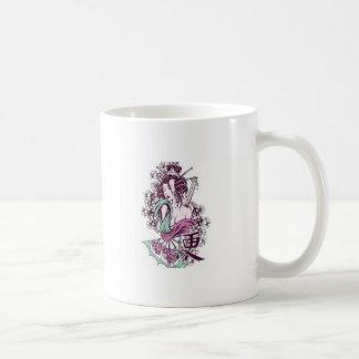 Geisha cinderella coffee mugs