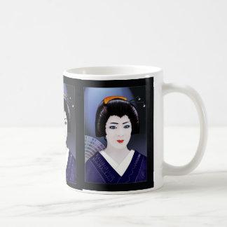 Geisha Color Basic White Mug