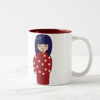 Geisha Doll Cup Mug