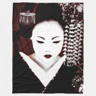 Geisha Fleece Blanket