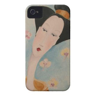 Geisha Floral Blackberry case