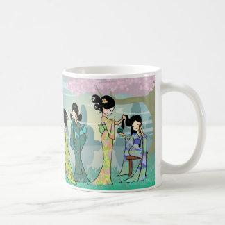 Geisha Geisha Basic White Mug