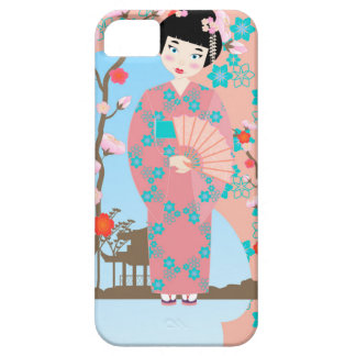 Geisha girl birthday party iPhone 5 case