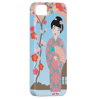 Geisha girl birthday party iPhone 5 cases