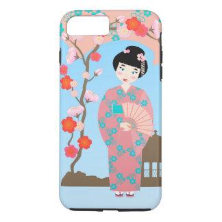 Geisha girl birthday party iPhone 7 plus case