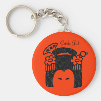 Geisha Girl Brand Key Chain