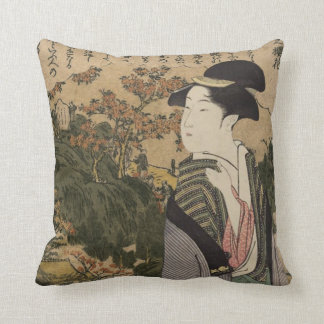 Geisha Girl Cushion