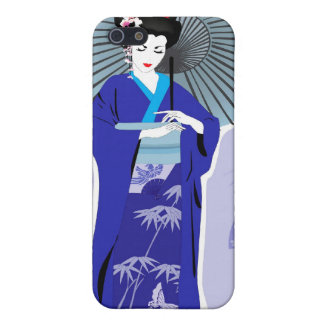 Geisha Girl -  Japanese Design iPhone Case iPhone 5 Covers