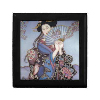 Geisha Girl Keepsake Box