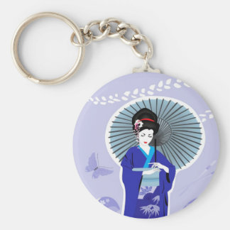 Geisha Girl Keychain