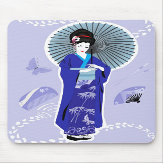 Geisha Girl Mousepad
