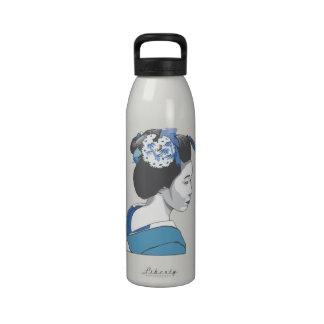 Geisha Girl Reusable Water Bottles