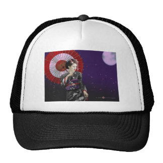 Geisha Mesh Hats