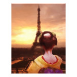 Geisha in Paris Personalized Flyer