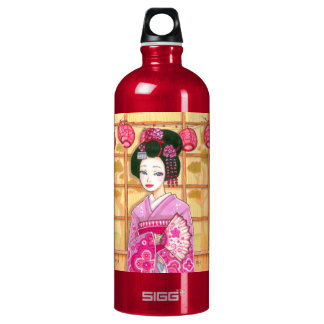 Geisha in Pink Kimono SIGG Traveller 1.0L Water Bottle