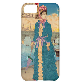 Geisha in the West Japanese Woodblock Art Ukiyo-E Cover For iPhone 5C