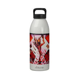 Geisha Japan Reusable Water Bottle