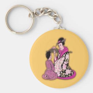 Geisha Key Chain