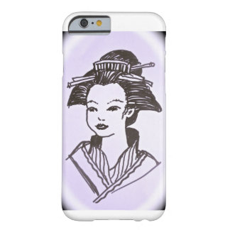 Geisha Lady Barely There iPhone 6 Case