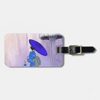 Geisha Luggage Tag