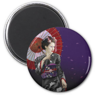 Geisha Fridge Magnet