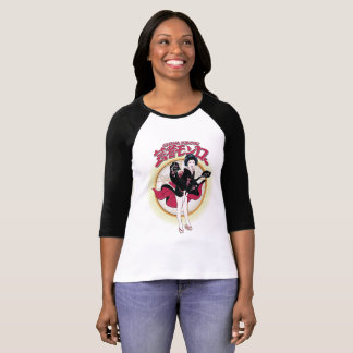 Geisha Monroe 3/4 Sleeve Raglan T-Shirt