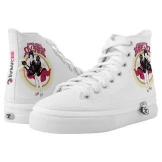 Geisha Monroe Custom Zipz High Top Shoes