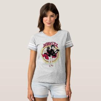 Geisha Monroe Women's Football T-Shirt