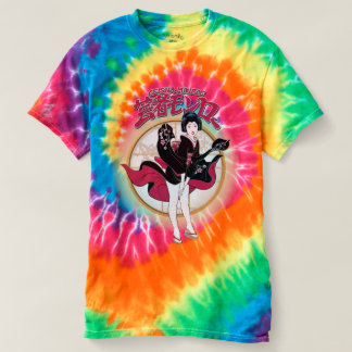 Geisha Monroe Women's Spiral Tie-Dye T-Shirt