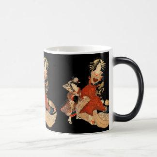 Geisha Morphing Mug