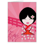 Geisha Notecard - Blank Note Card