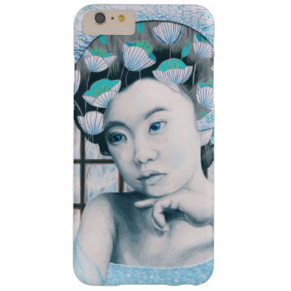 Geisha Phone Case - Art Surreal Blue Floral