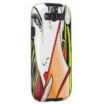 Geisha phone design galaxy SIII covers