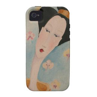Geisha portrait Iphone 4 Case