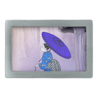 Geisha Rectangular Belt Buckle