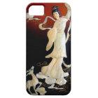 geisha shell art iPhone 5 case