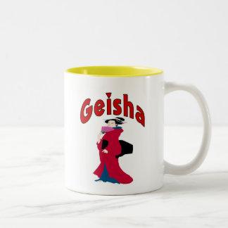 Geisha Shirt Two-Tone Mug
