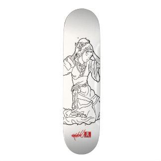 Geisha Sketch 21.3 Cm Mini Skateboard Deck