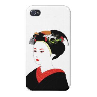 Geisha Skin Cover For iPhone 4