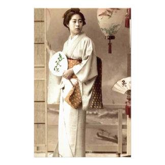 Geisha Stationery Design