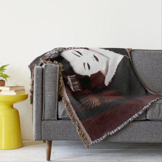 Geisha Throw Blanket