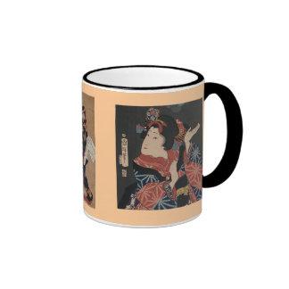 Geisha Trilogy Vintage Art Images Mug