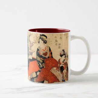 Geisha Two-Tone Coffee Mug